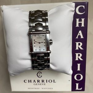 Charriol Diamond Columbus Watch Colvmbvs